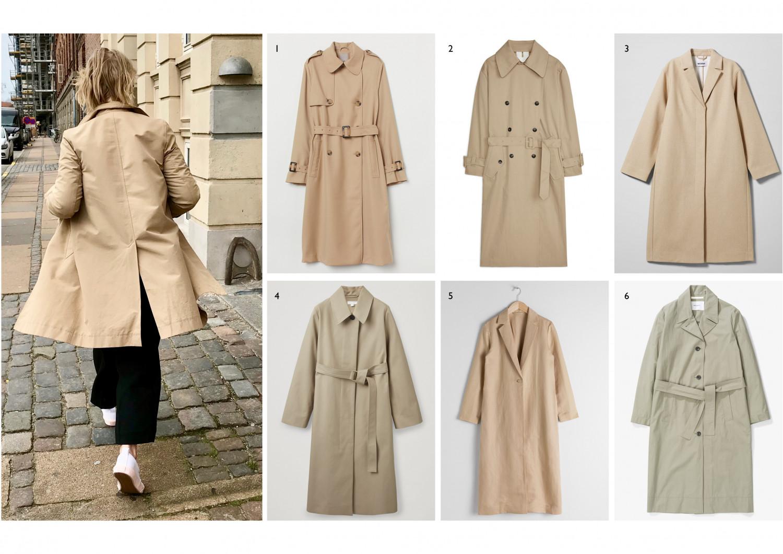 A Beige Spring Coat