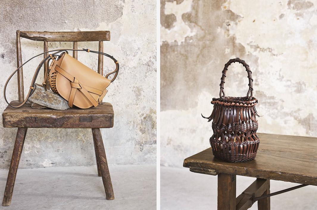 Loewe Baskets - Salone del Mobile Exhibition