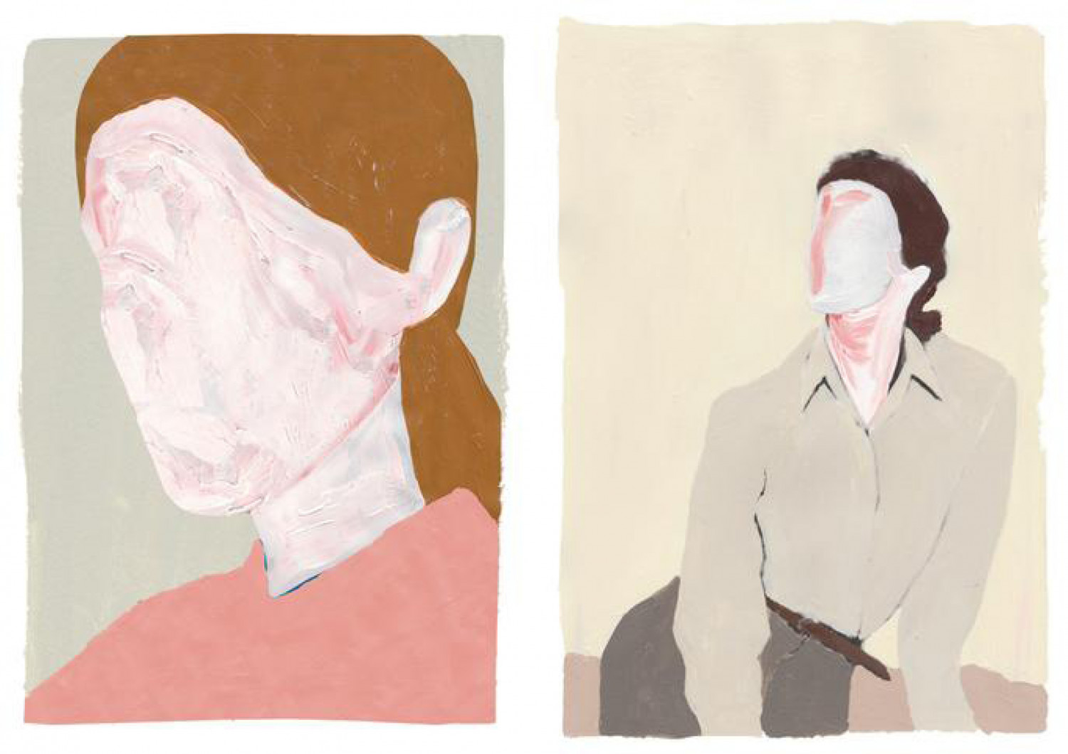 Taking A Break is a series of limited edition prints by Stine Maria Aalykke