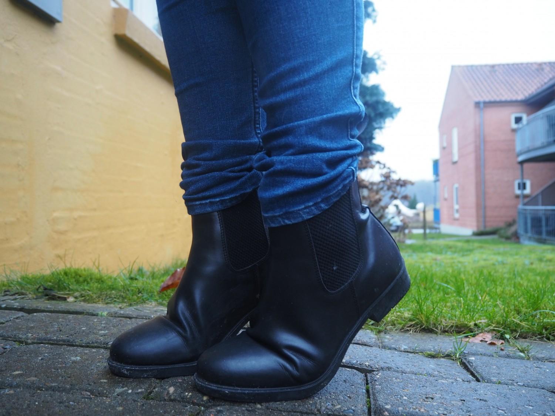Billige chelsea boots i ægte læder