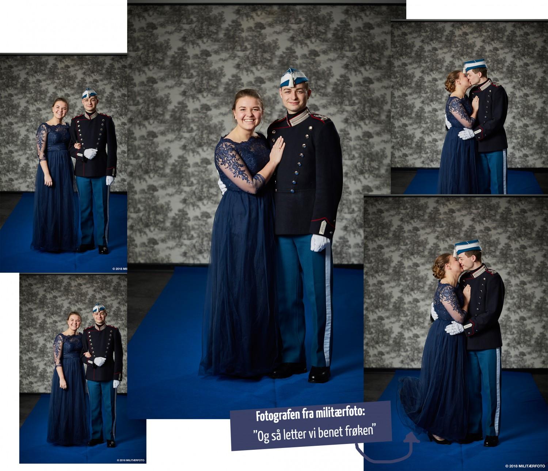 Blå fest 2018 I Den kongelige livgarde, blå fest kjole, blå march