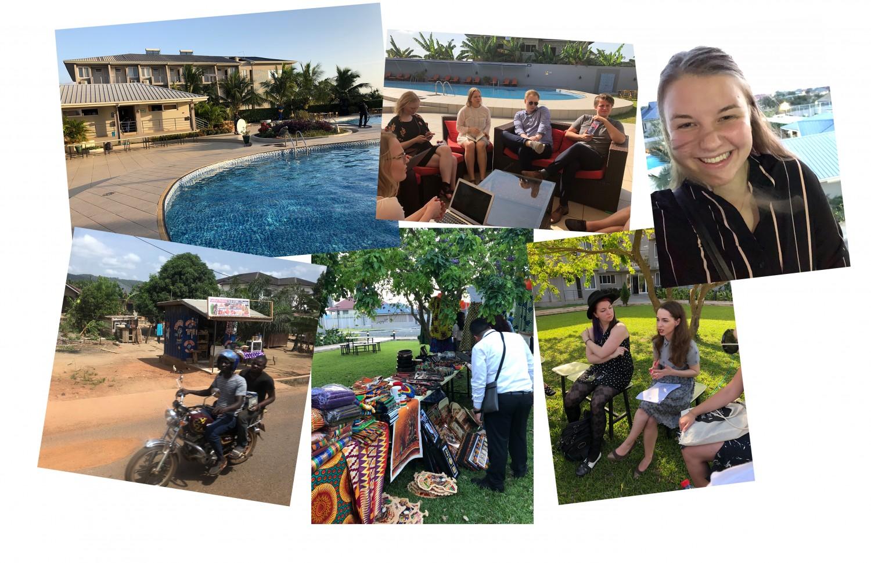 Oplevelser med IFLRY i Ghana, Accra