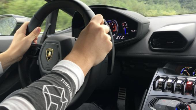Lamborghini Huracán Coupé Ring Knutstorp
