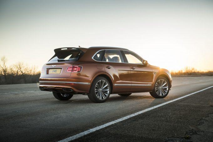 Bentley Bentayga Speed, igen verdens hurtigste SUV
