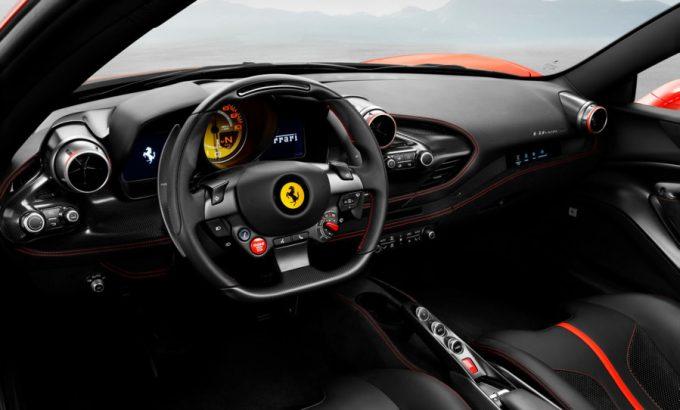 Ferrari F8 Tributo faceliftet 488 GTB