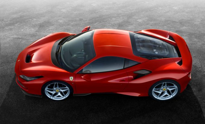 Ferrari F8 Tributo lanceres næste uge Geneve Motor Show