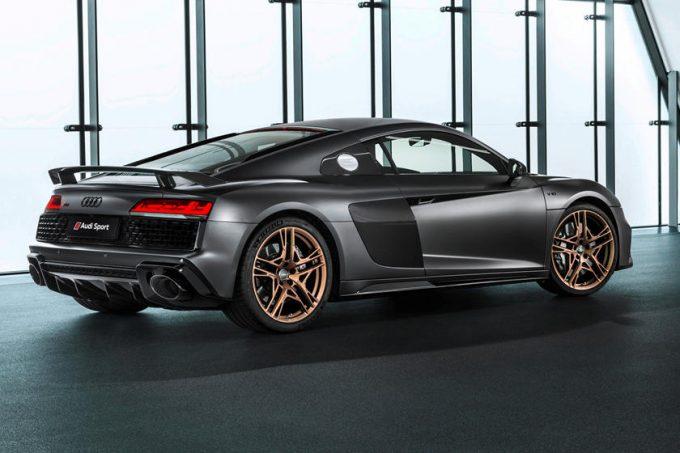 Audi R8 V10 Decennium fremstilles kun i 222 eksemplarer