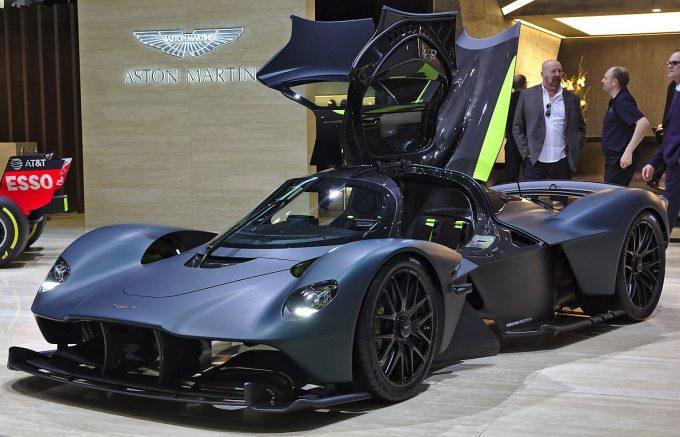 Verdens dyreste bil nummer 9, Aston Martin Valkyrie