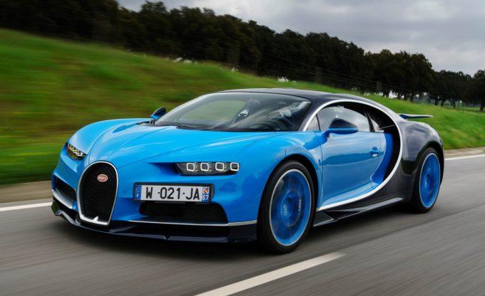 Bugatti Chiron - Nu kun under 100 stk
