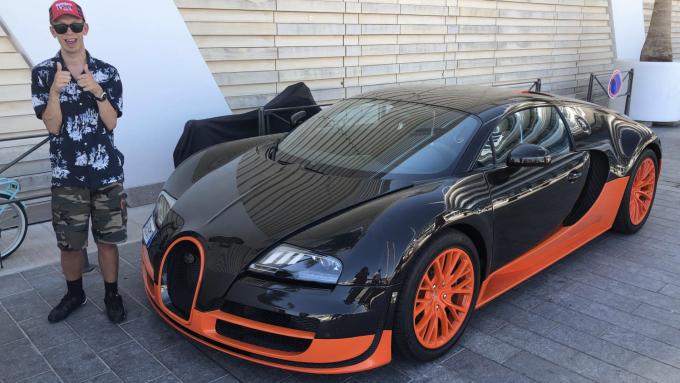 Dagens Spot er en Bugatti Veyron SuperSport fra Monaco