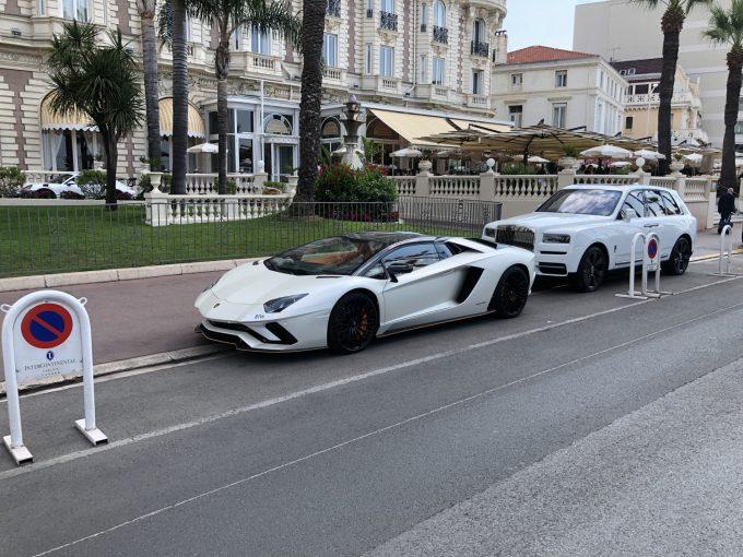 Sommerferie 2019 Cannes - Lamborghini Aventador S