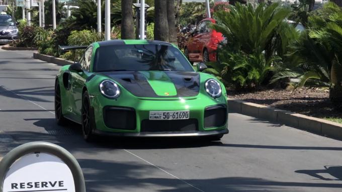 Sommerferie 2019_Cannes - Porsche GT2RS weissach