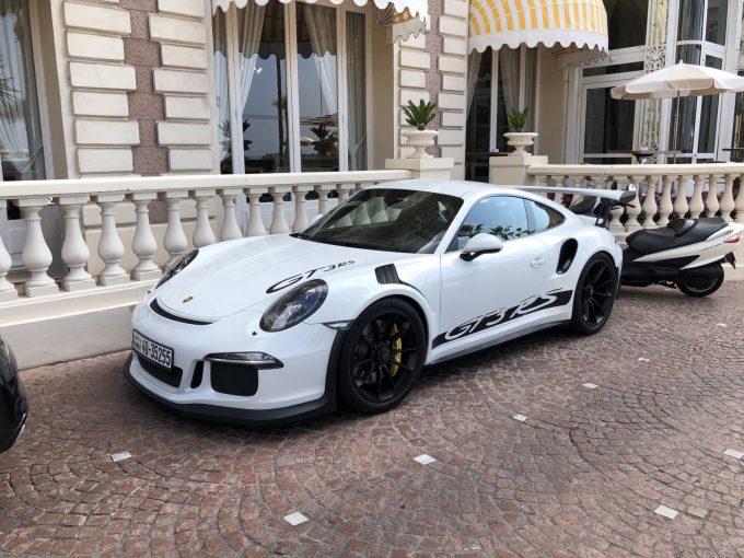 Sommerferie 2019_Cannes - Porsche GT3RS