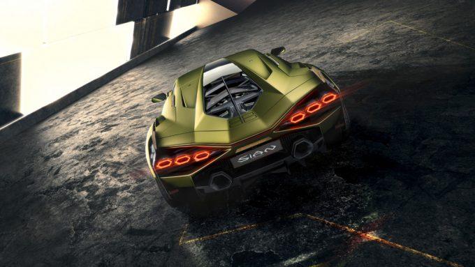 Lamborghini's hybridbil Sián allerede udsolgt
