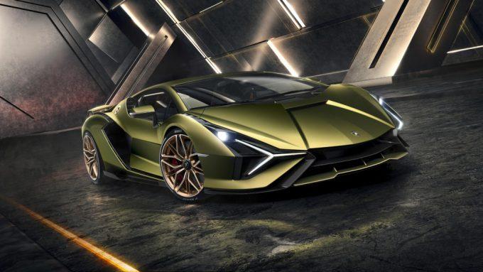 Lamborghini Sián nyhed, hybridbil