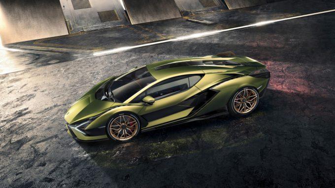 Lamborghini Sián får debut til Frankfurt Motor Show