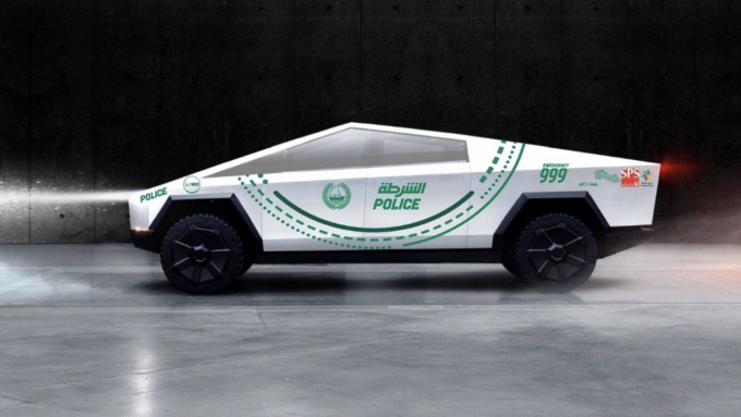 Ny Tesla til Dubais politistyrke