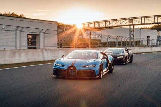 Bugatti Chiron Pur Sport tester på Bilster Berg