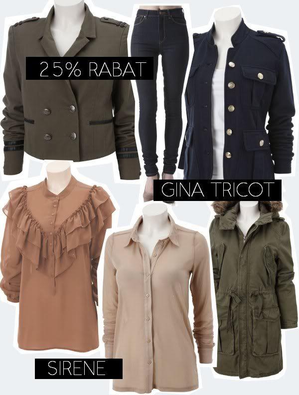 25% hos Gina Tricot
