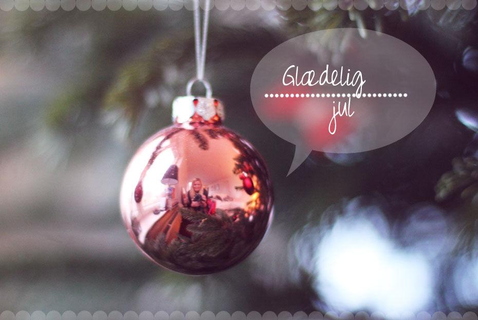 Et julekort // Fra mig til Jer