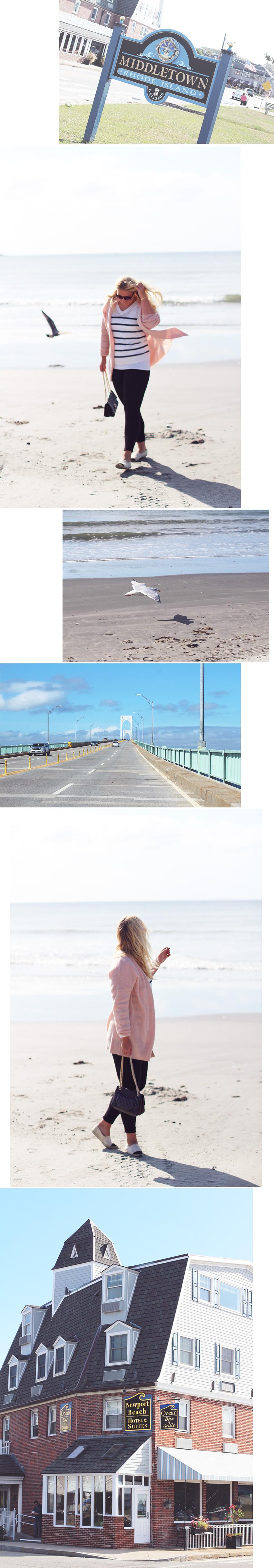 LYSERØD OG STRIBER <i>i Newport Beach</i>