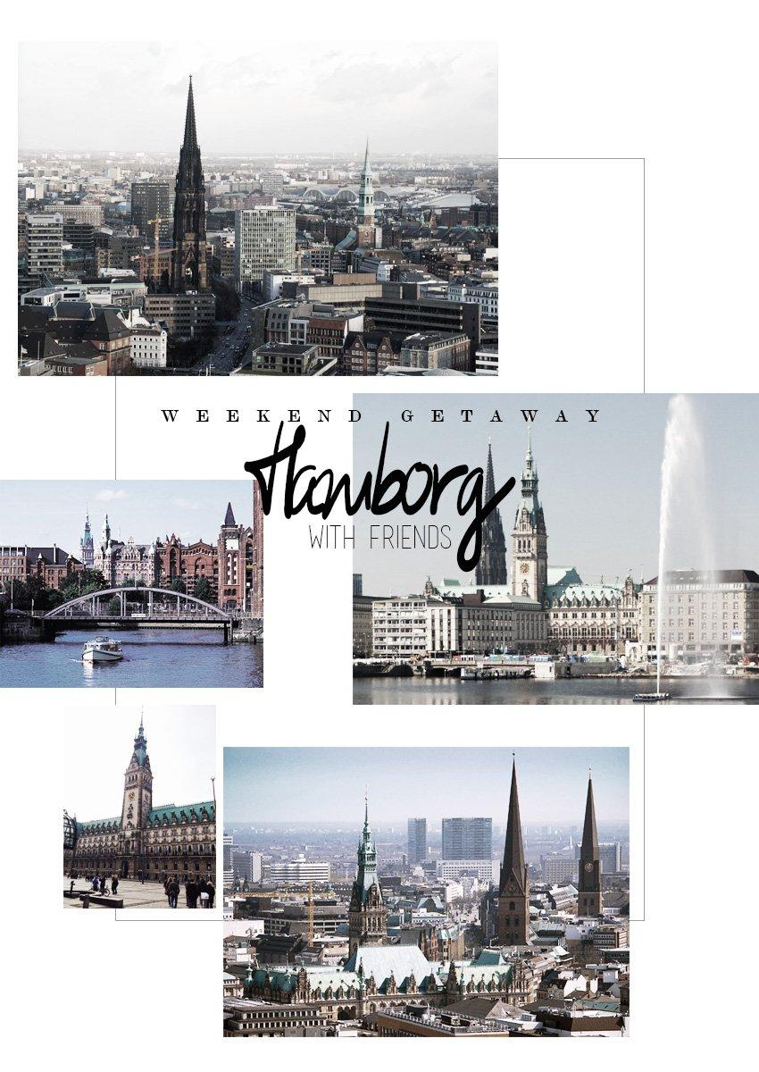 REJSER <i>- en weekendtur til Hamborg med veninder og mænd</i>