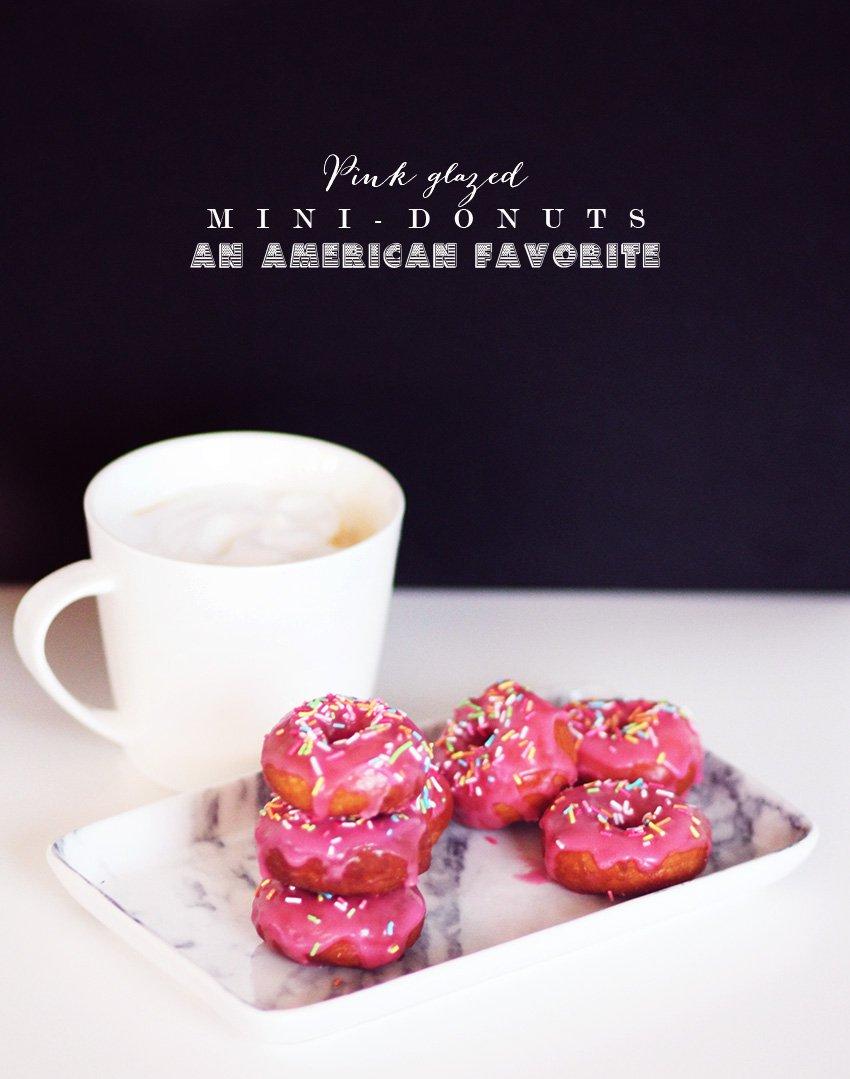 OPSKRIFT <i>- mini-donuts på USA-måden</i>