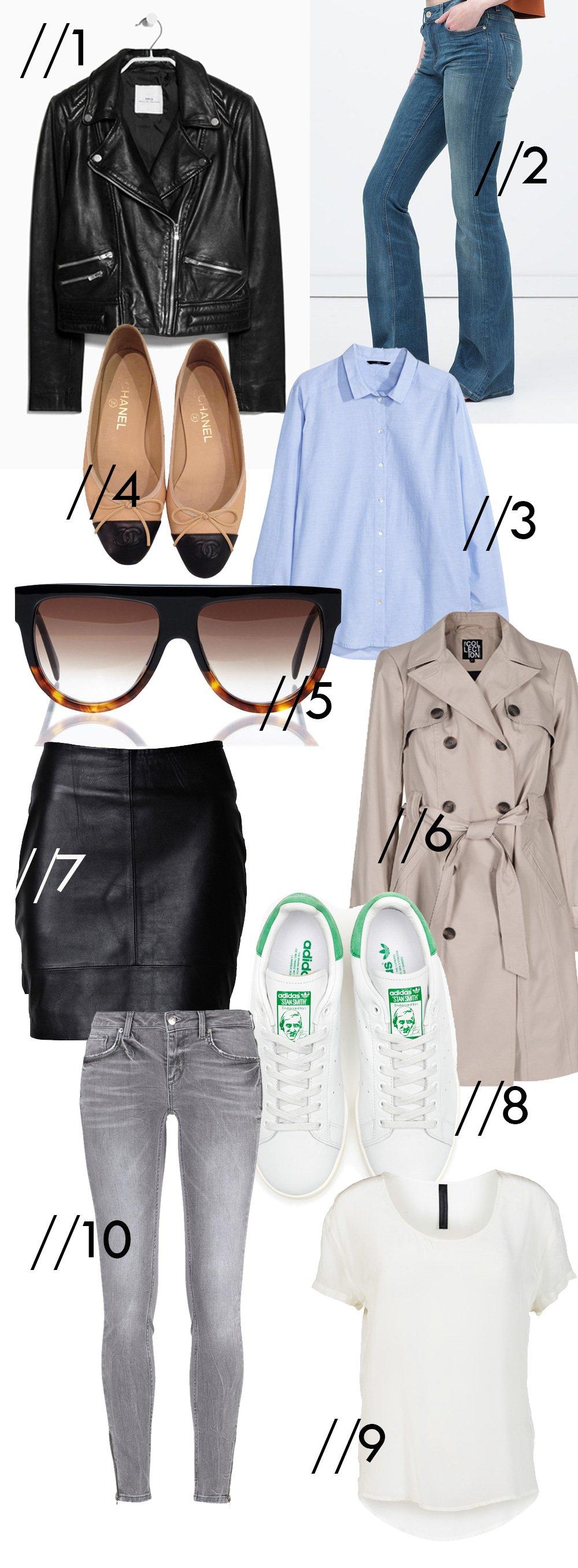 10 garderobeklassikere til foråret