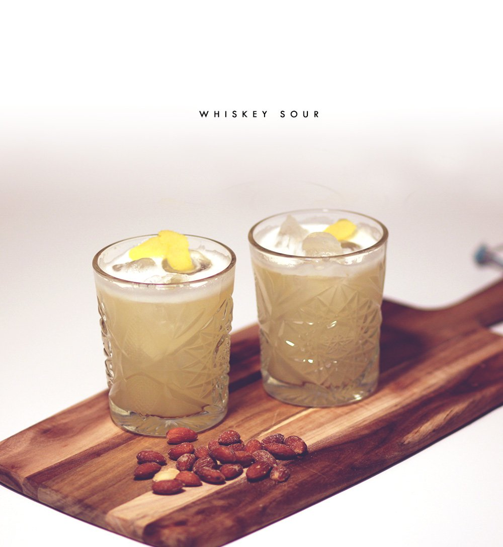COCKTAIL - min favorit; Whiskey Sour..