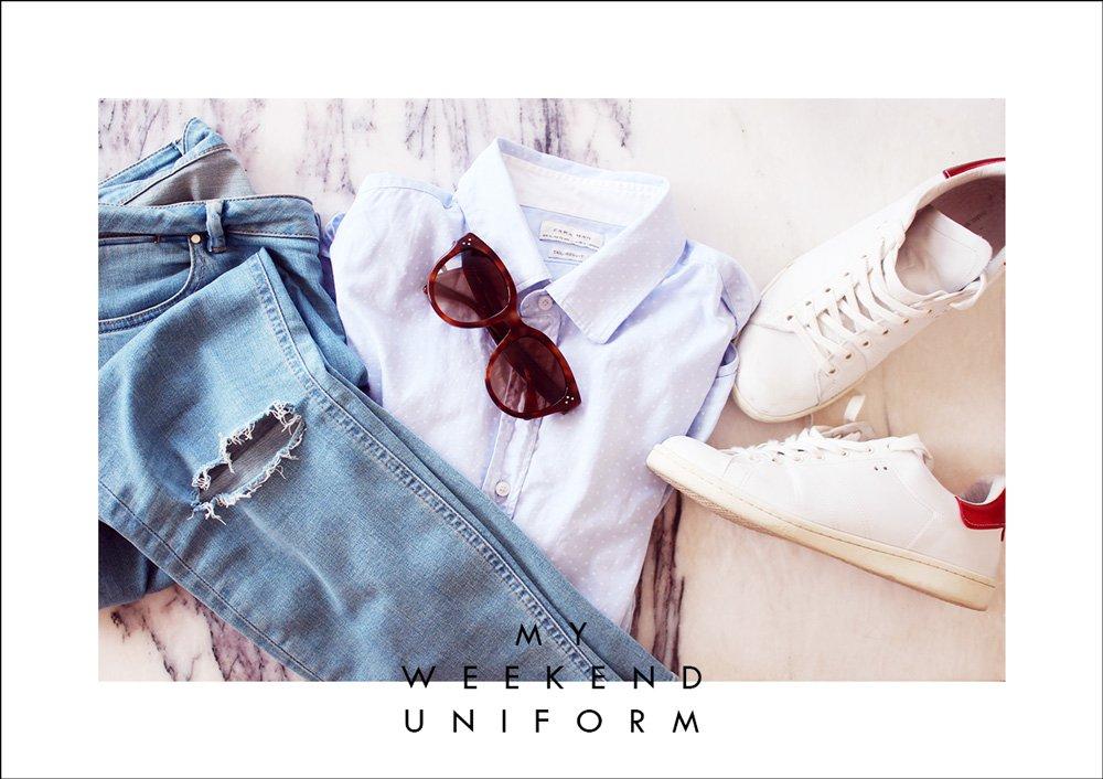 WEEKEND - lyseblå garderobe-favoritter