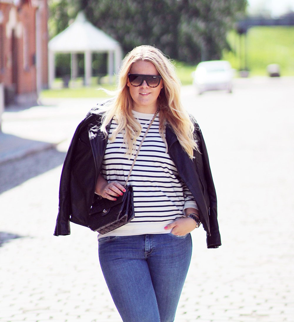 OUTFIT - flare jeans fra Zara..