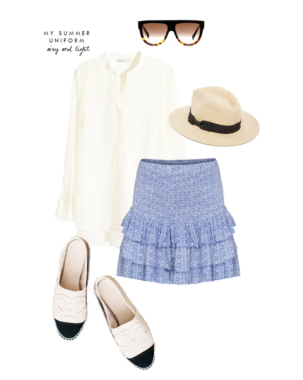 OUTFIT - min sommer-uniform..