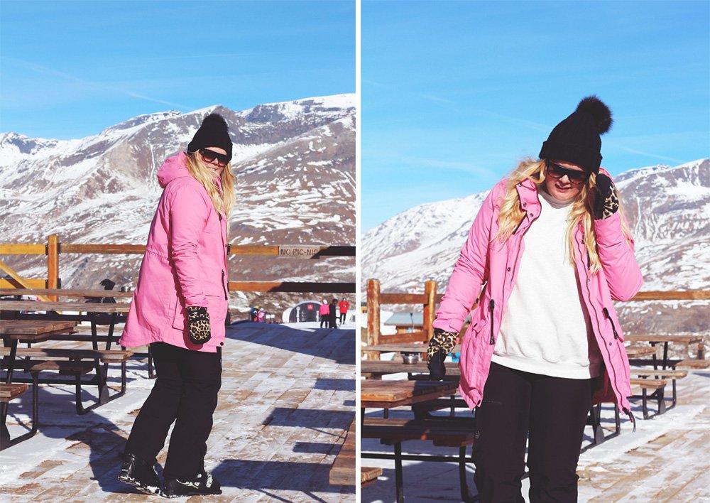SNELYKKE - tartiflette, solskin og lyserødt skitøj..