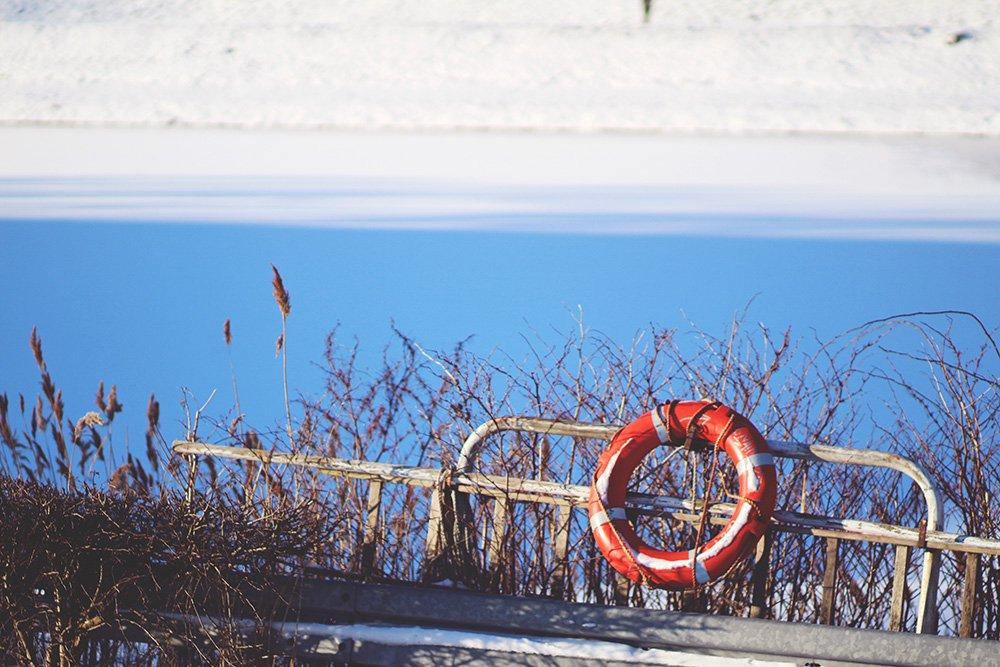 SUNDAY BLISS - gåtur i sneen..