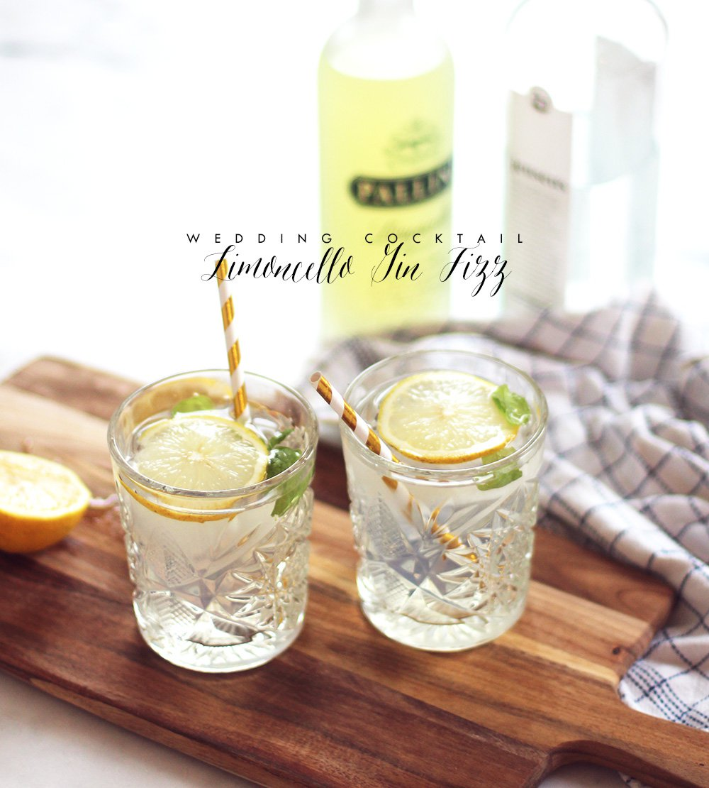 COCKTAIL - Limoncello Gin Fizz..