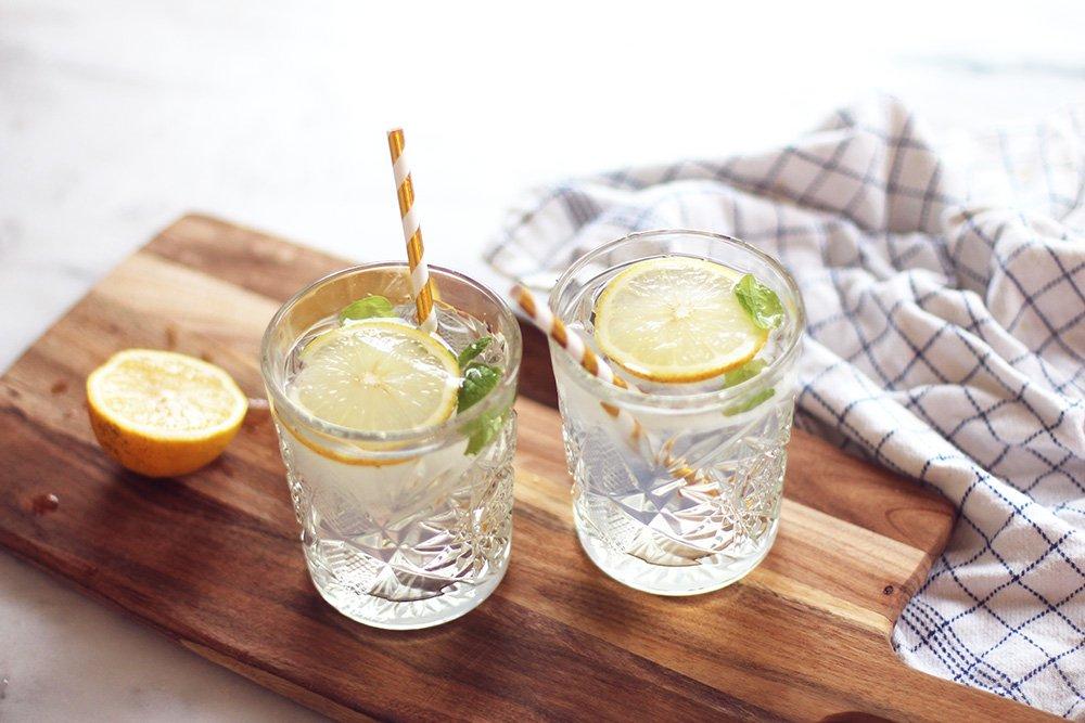COCKTAIL - Limoncello Gin Fizz..