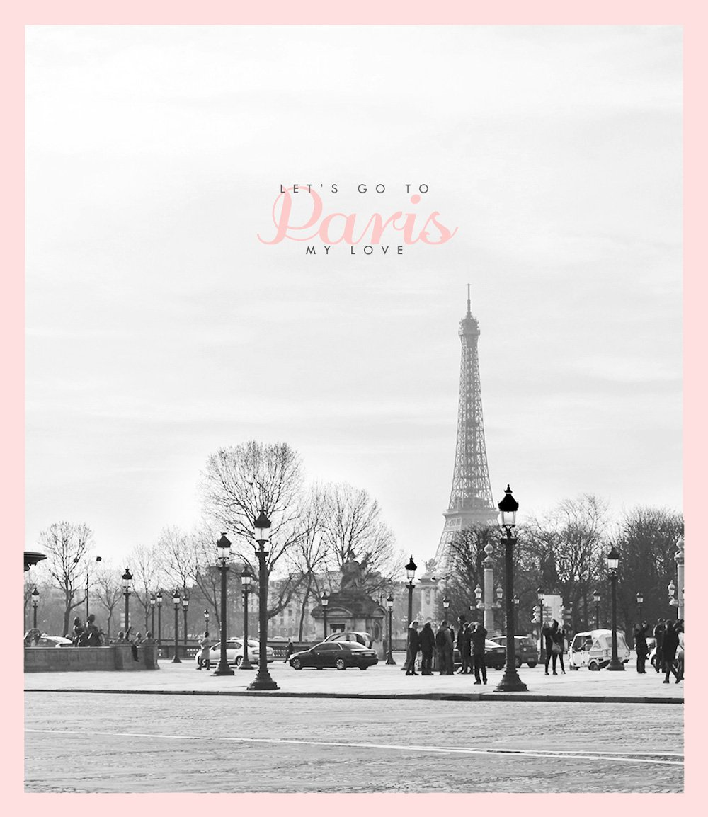 REJSER - let's go to Paris my love..