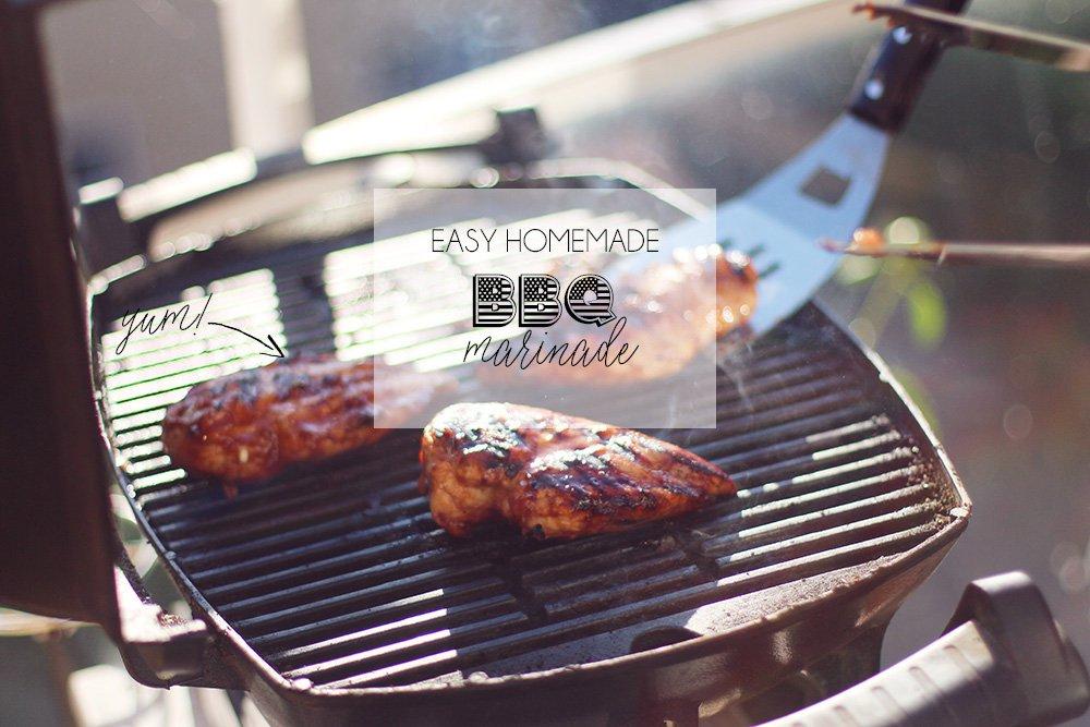 OPSKRIFT - hjemmelavet BBQ-marinade..