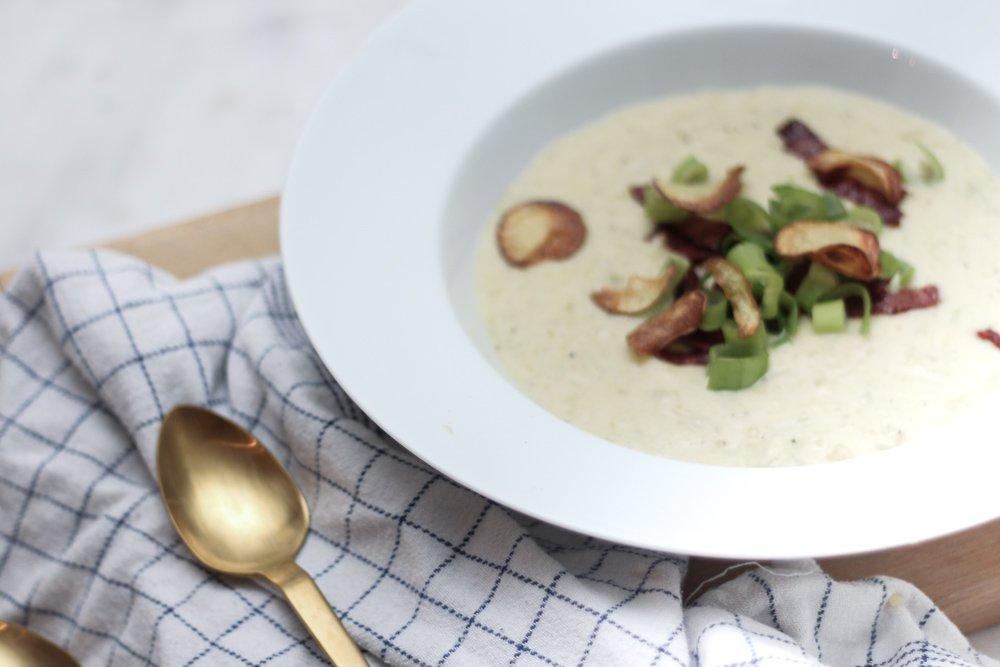 opskrift nem og lækker kartoffel porre supper comfort food (4 of 5)