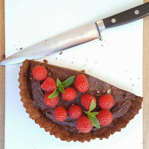 Chokoladetærte+med+hindbær+og+mynte-2