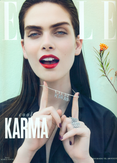 Maria on the cover of Elle Magazine