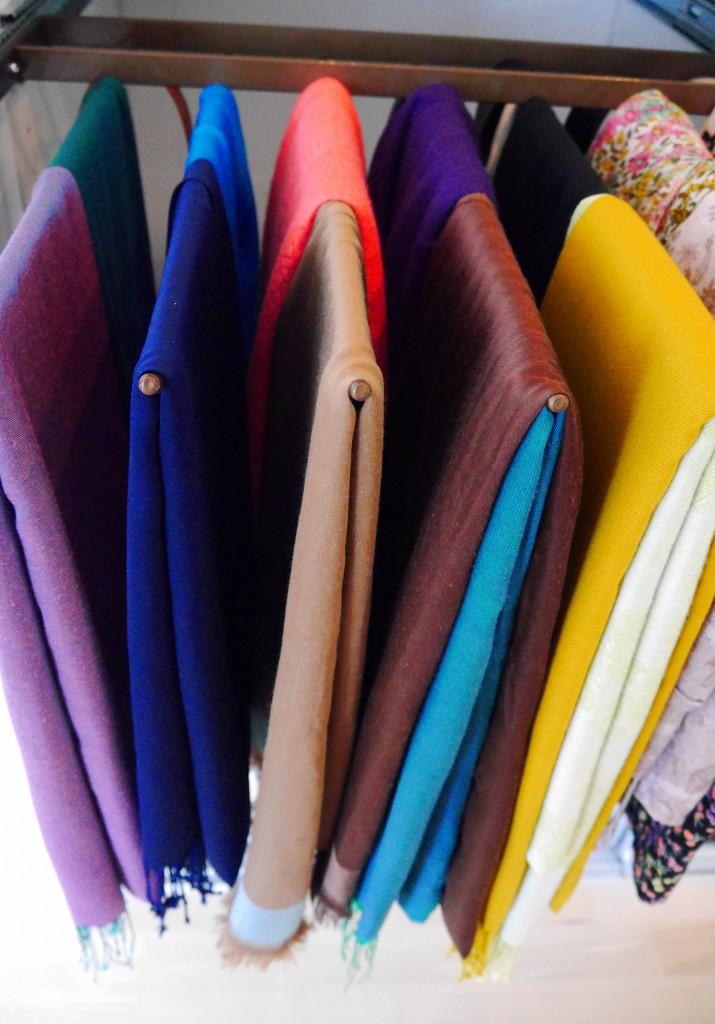 Opbevaring af tørklæder