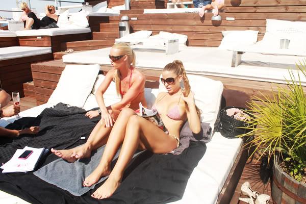 Bikini tid med Line