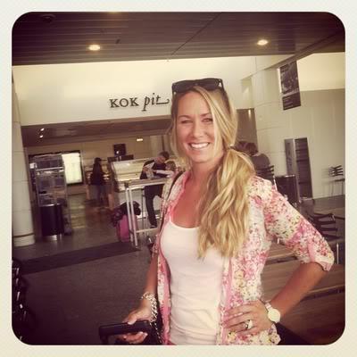 Instagram fra lufthavnen