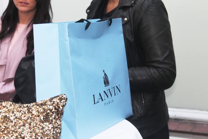 Præcis 1 år siden//Lanvin åbnings fest