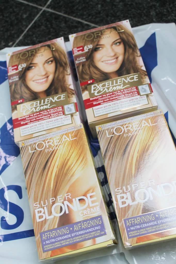 affarvning af hår