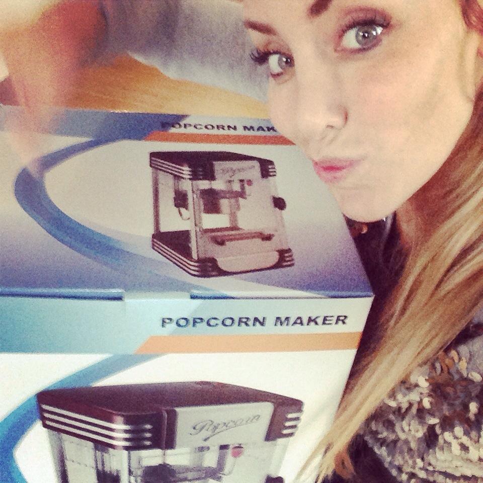 Julegave til mor // Popcornsmaskine