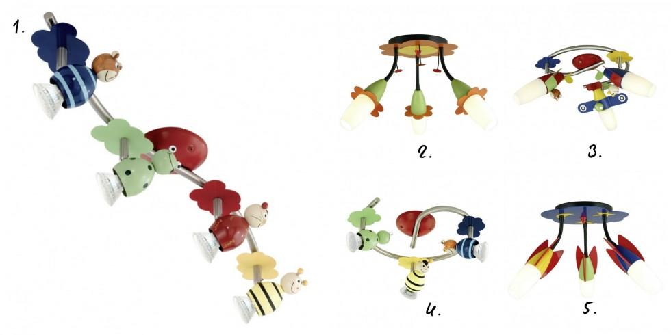 Sjove lamper til børneværelset