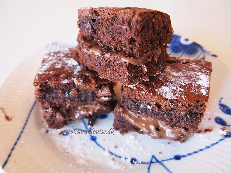 Chokolade kage med nutella (ADVARSEL!! folk på kur bør ikke læse med)