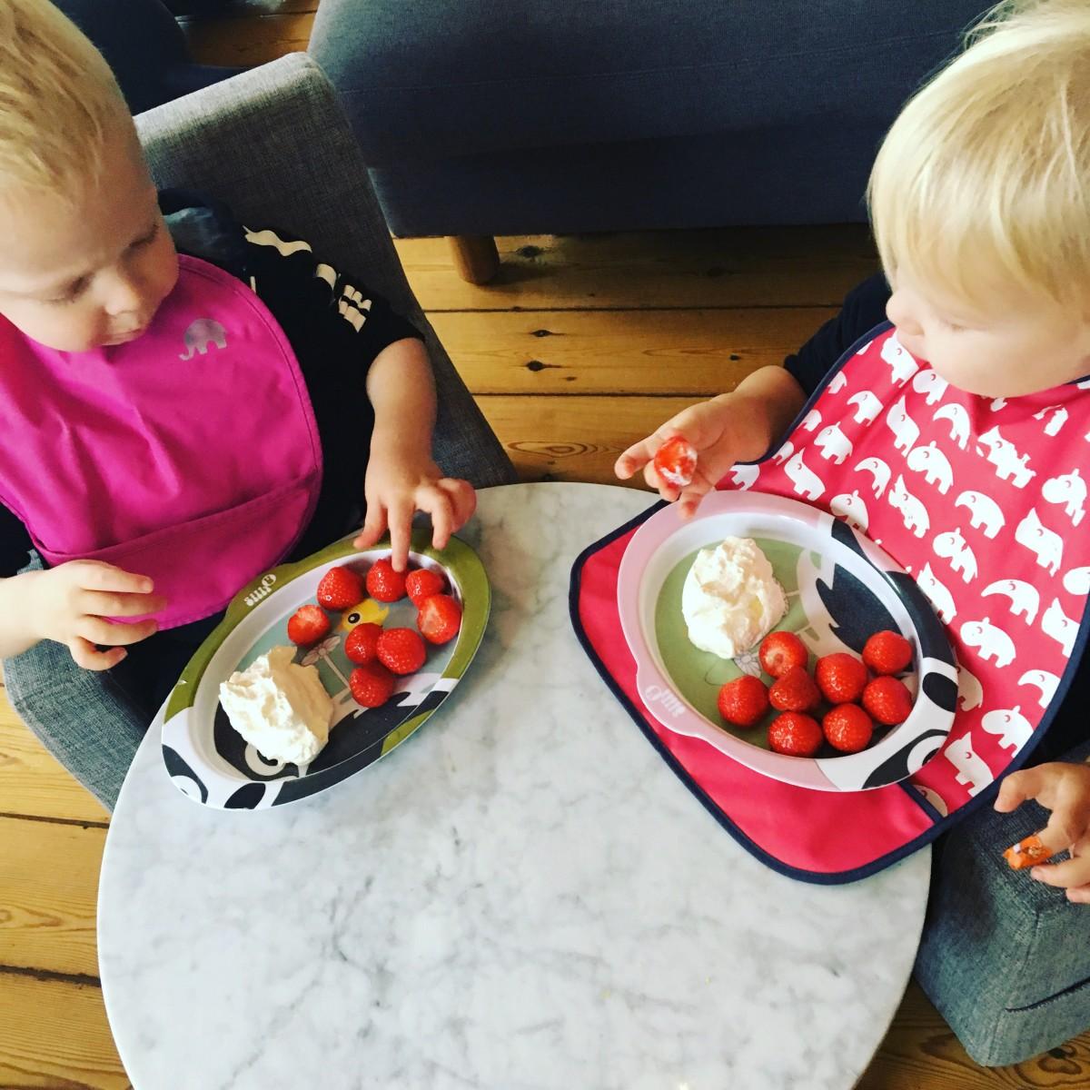 Lidt om at gravid panik, flødeskum & jordbær